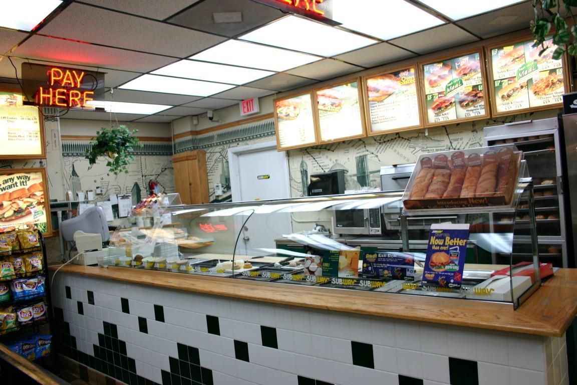 Subway Restaurant Menu Prices