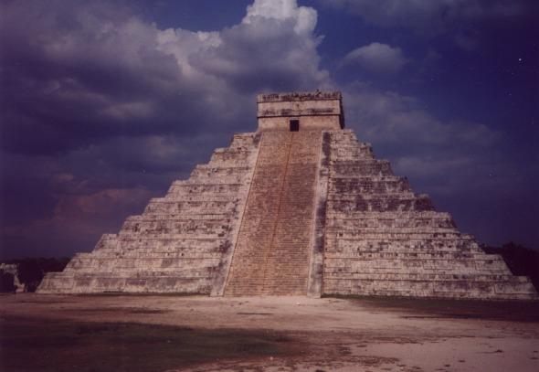 la piramide de Kukulcan