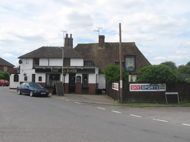 Creative Commons image of The Albion in Ashford