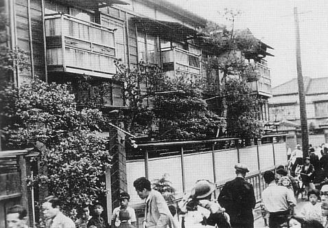 The scene of the Abe Sada Incident