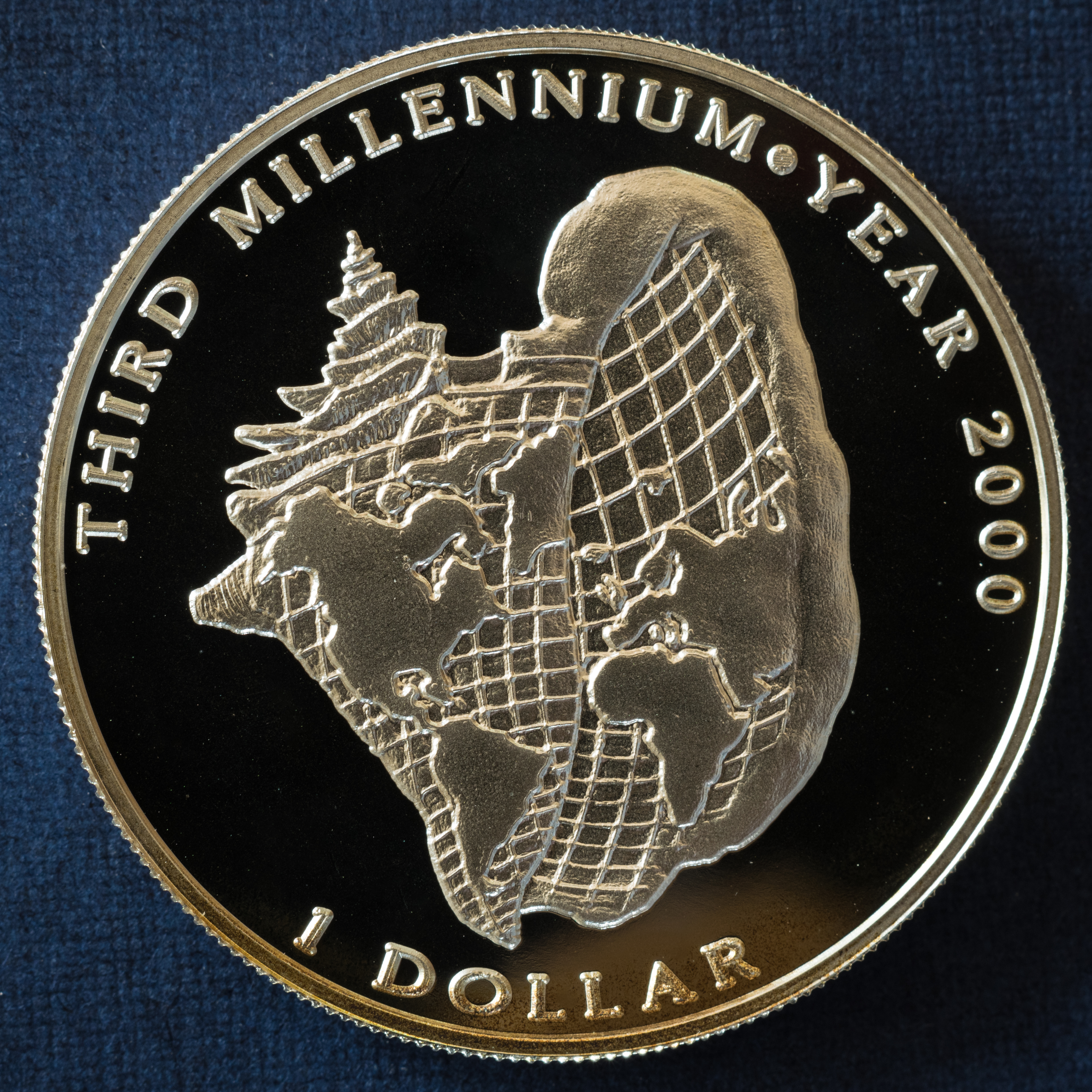 Filethird Millennium Year 2000 1 Dollar Bjpg Wikimedia Commons