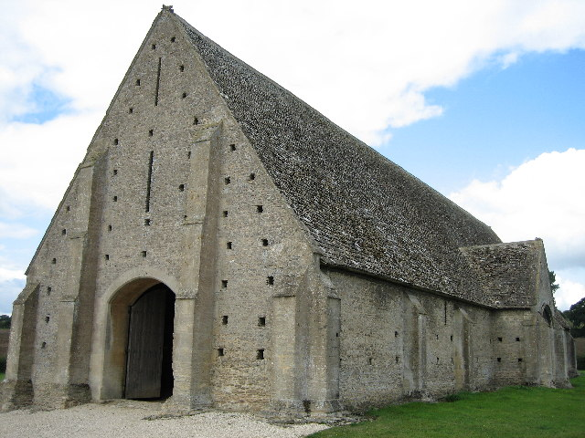 Tithe Barn at Great Coxwell - geograph.org.uk - 58275