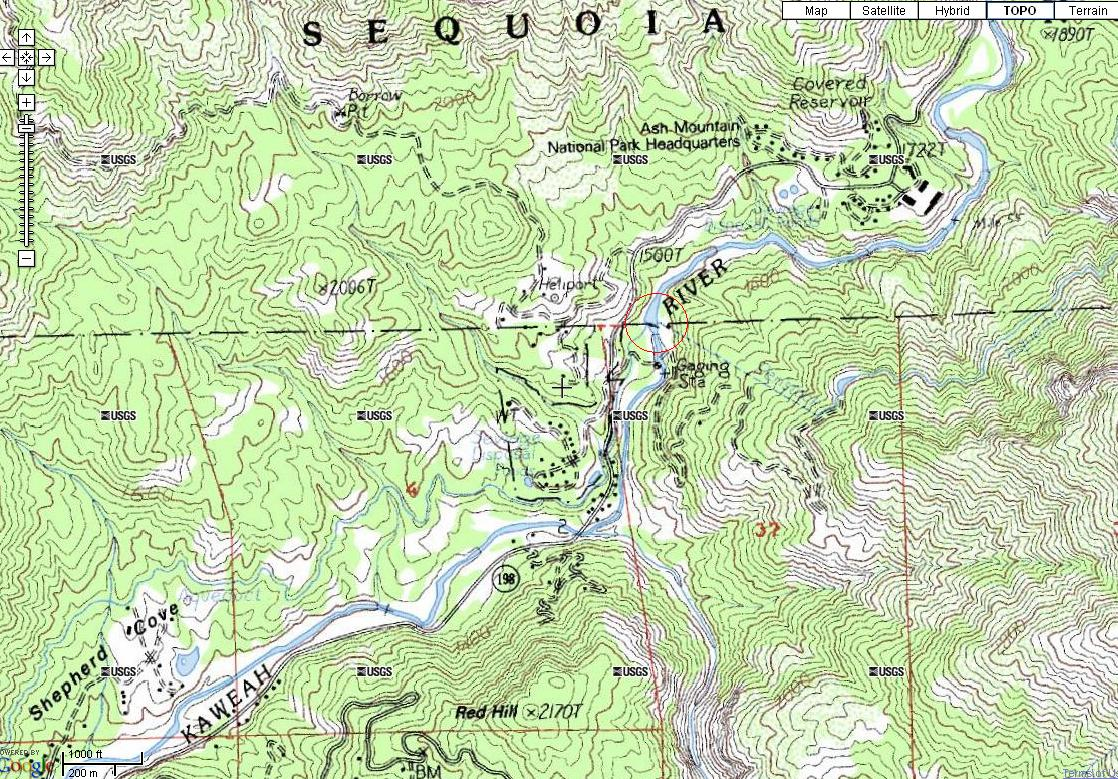 Topographic Map Of A Mountain.File Topographic Map Of Kaweah River Jpg Wikimedia Commons