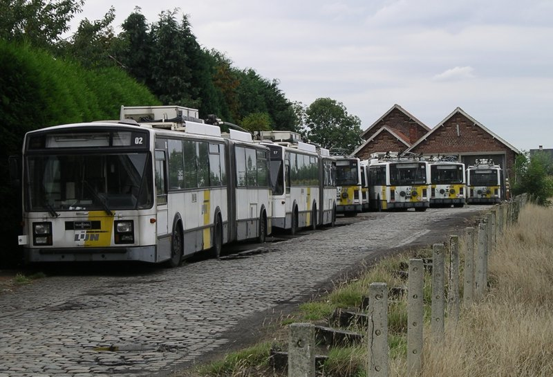 Disposed Ghent trolleybus