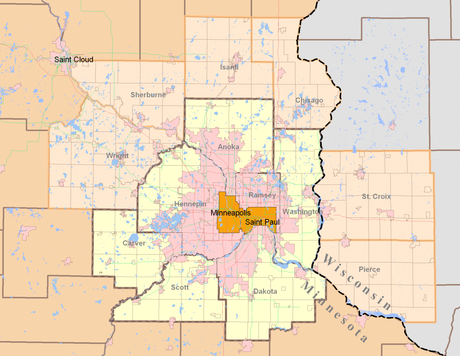 Measuring The MinneapolisSt Paul Metro Area And Getting