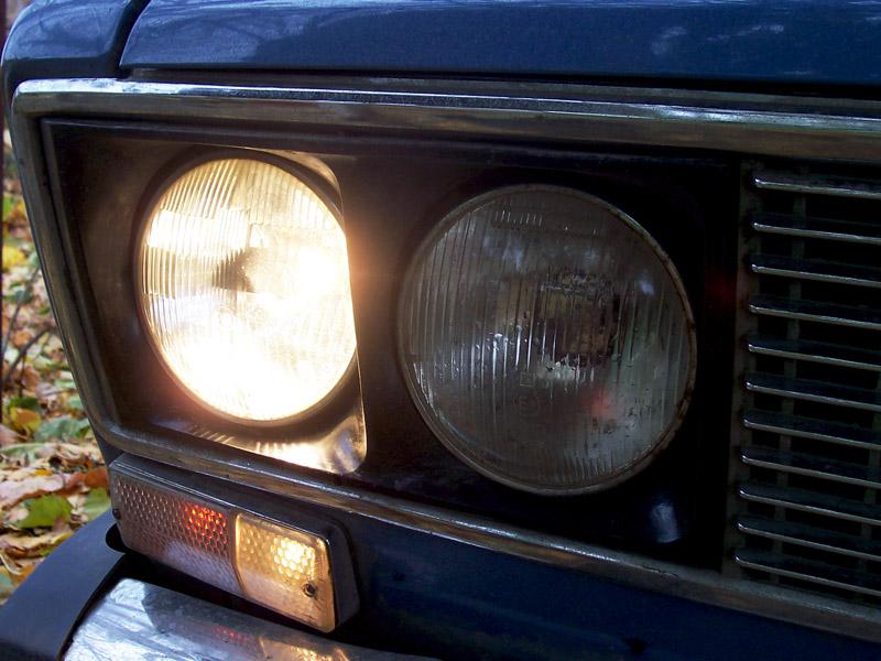 на автомобиле ВАЗ-2106,