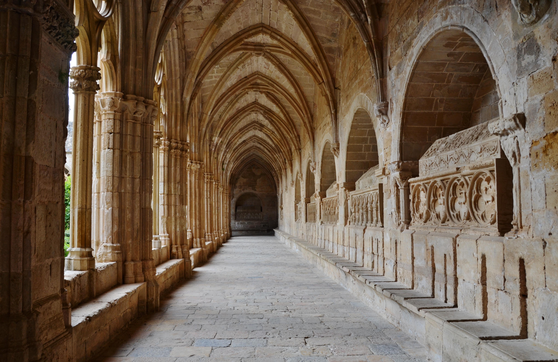 File:WLM14ES - Claustre del Reial Monestir de Santes Creus, Aiguamurcia, Alt ...