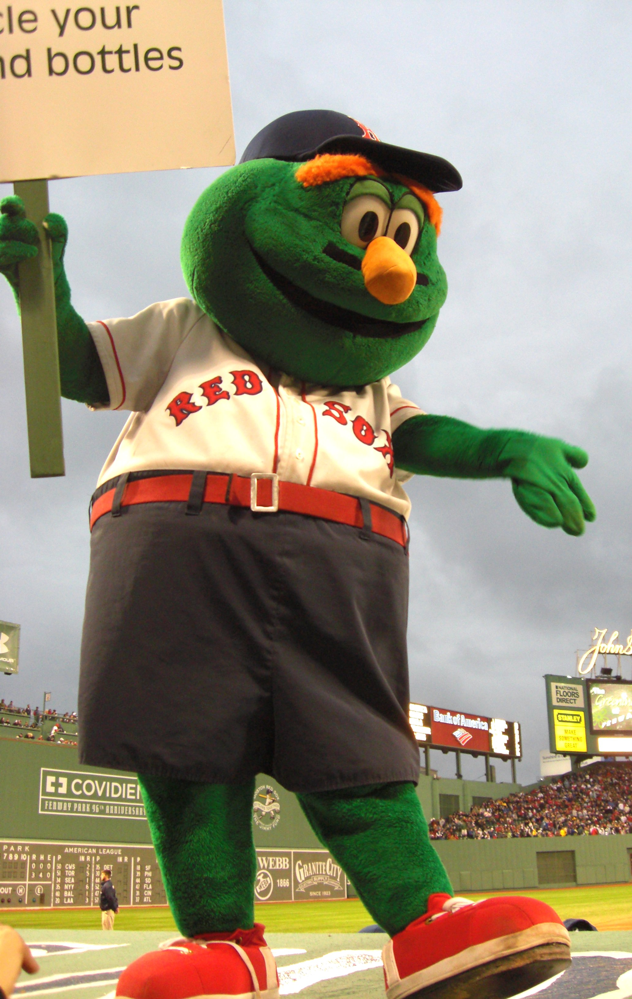 Red Sox Green Monster Paint