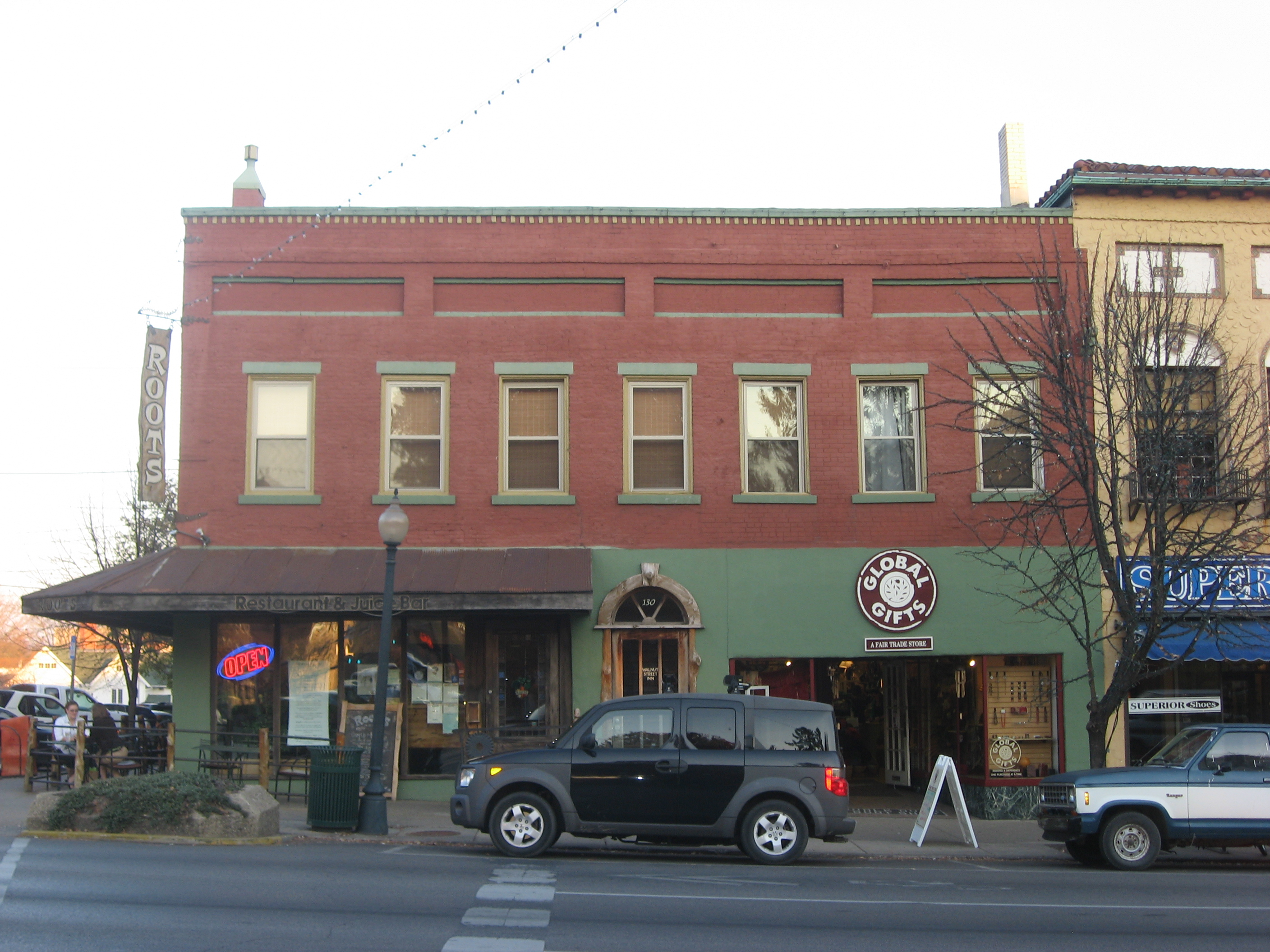 File Walnut Street North 124 Old Faulkner Hotel Bloomington Courthouse Square