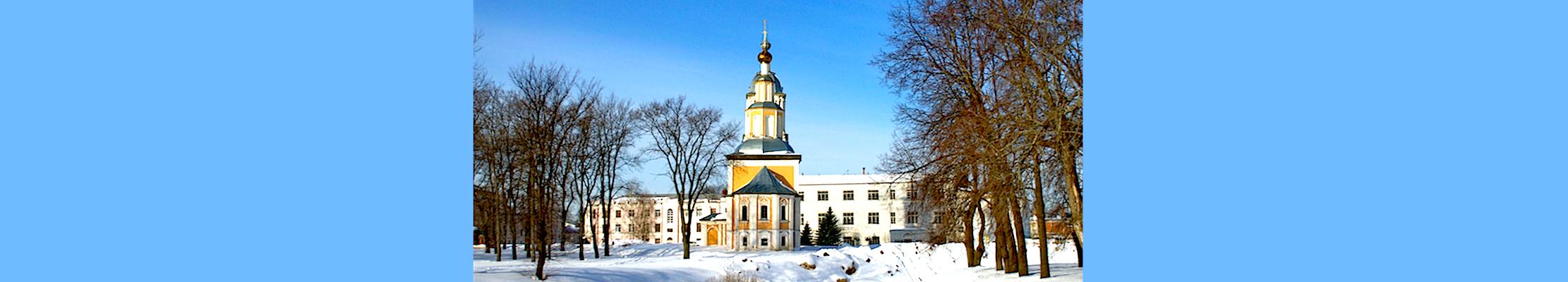 Казанская церковь в Угличе Ярославской области.