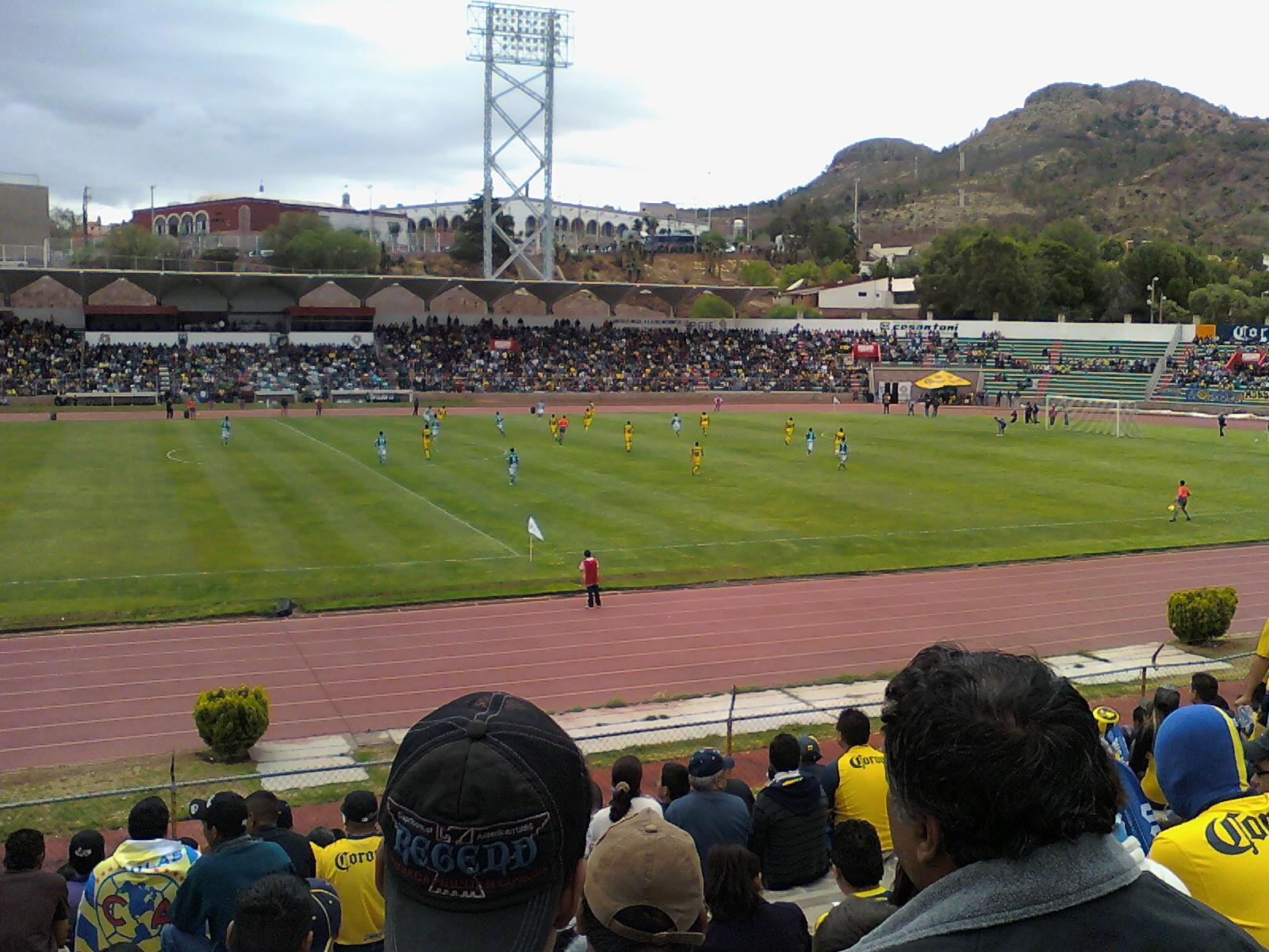 Estadio francisco villa wikipedia for Villas universidad zacatecas