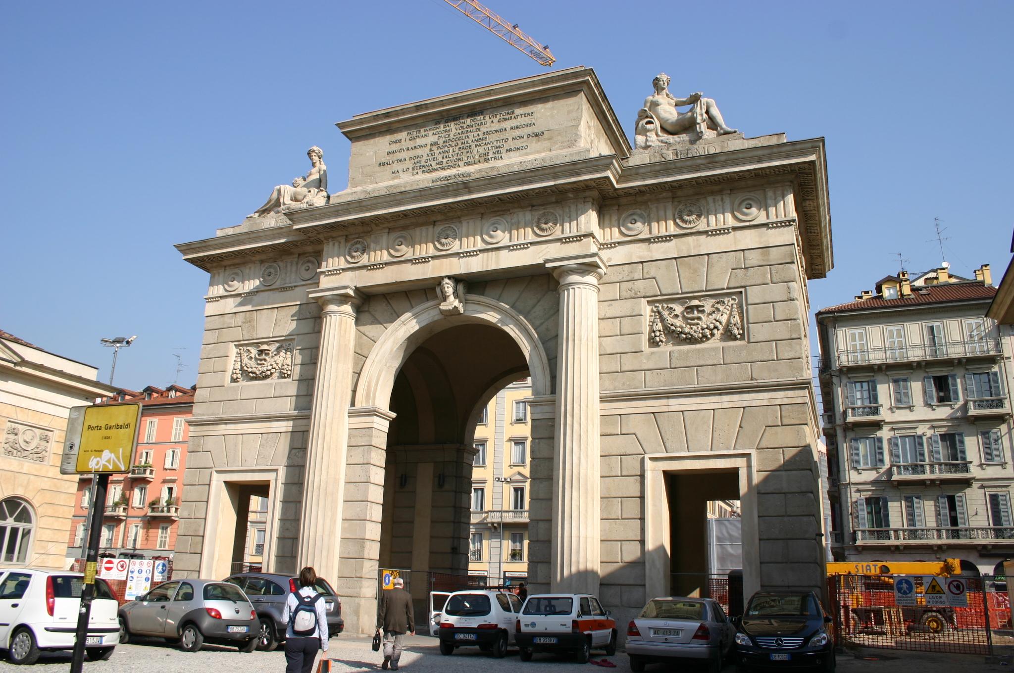 File 1356 milano giacomo moraglia porta garibaldi - Passante porta garibaldi ...