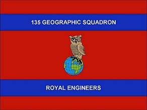 135 Geographic Squadron Royal Engineers