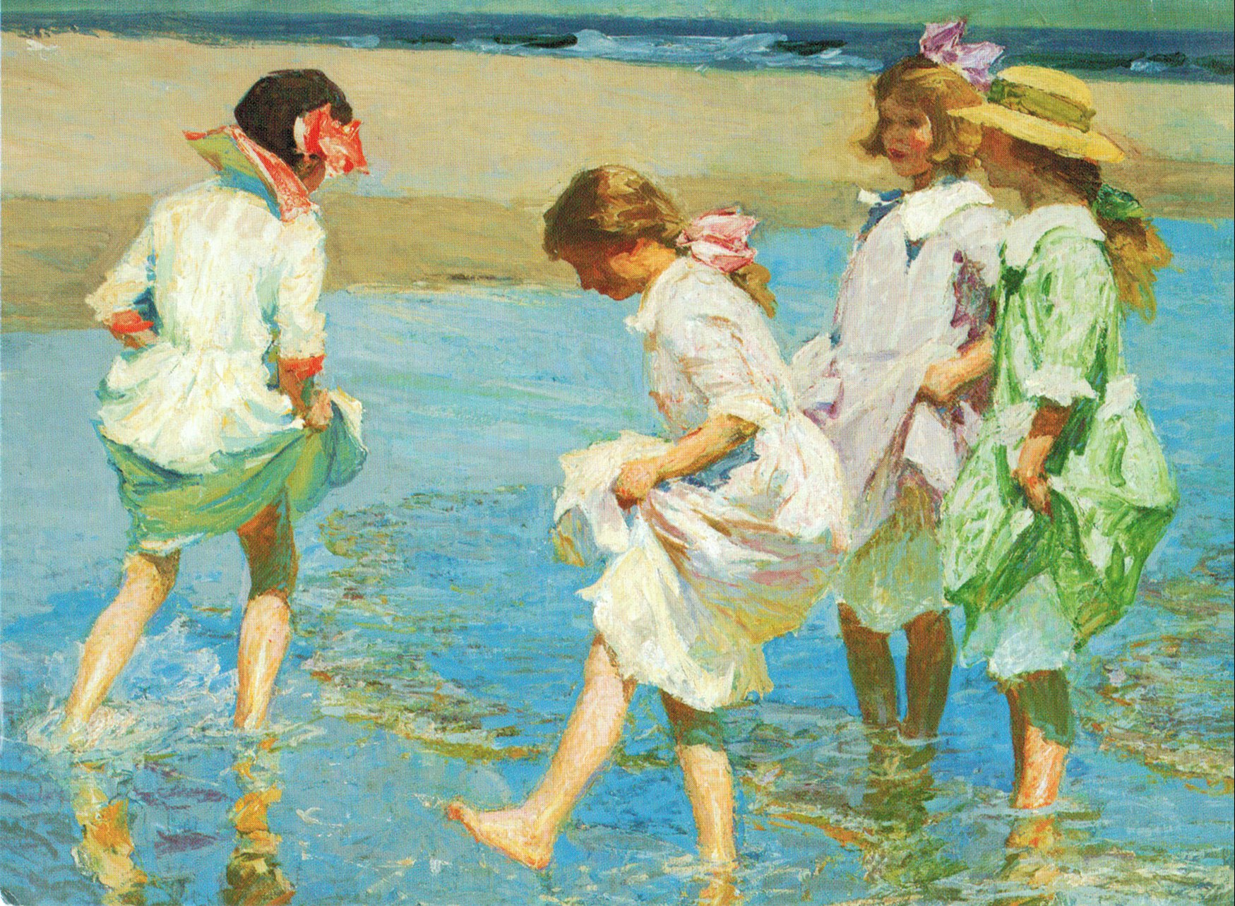 Edward Potthast Paintings