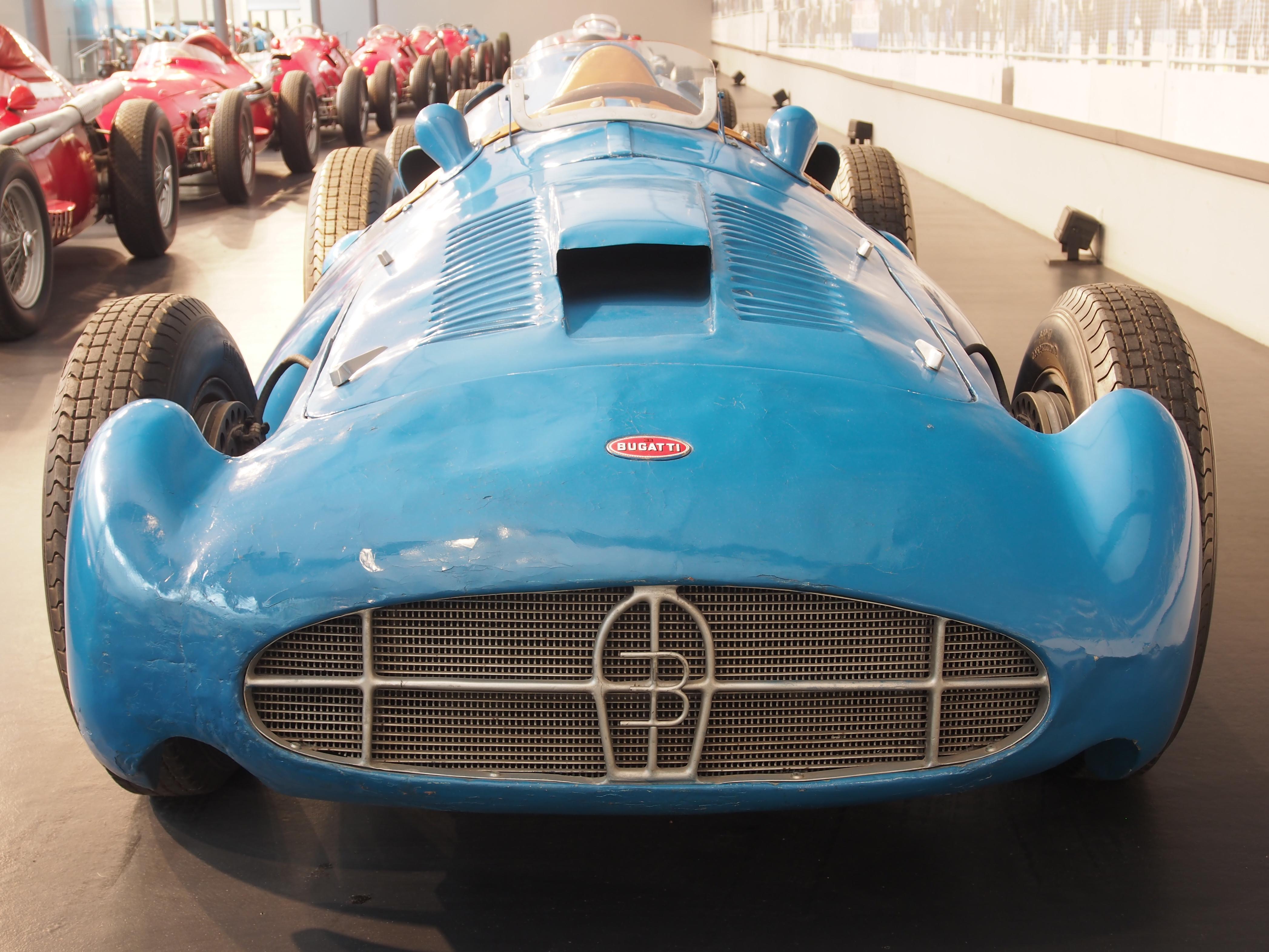 File 1955 Bugatti Gp 251 8 Cylinder 230hp 2421cm3 260kmh Photo 2 Jpg Wikimedia Commons