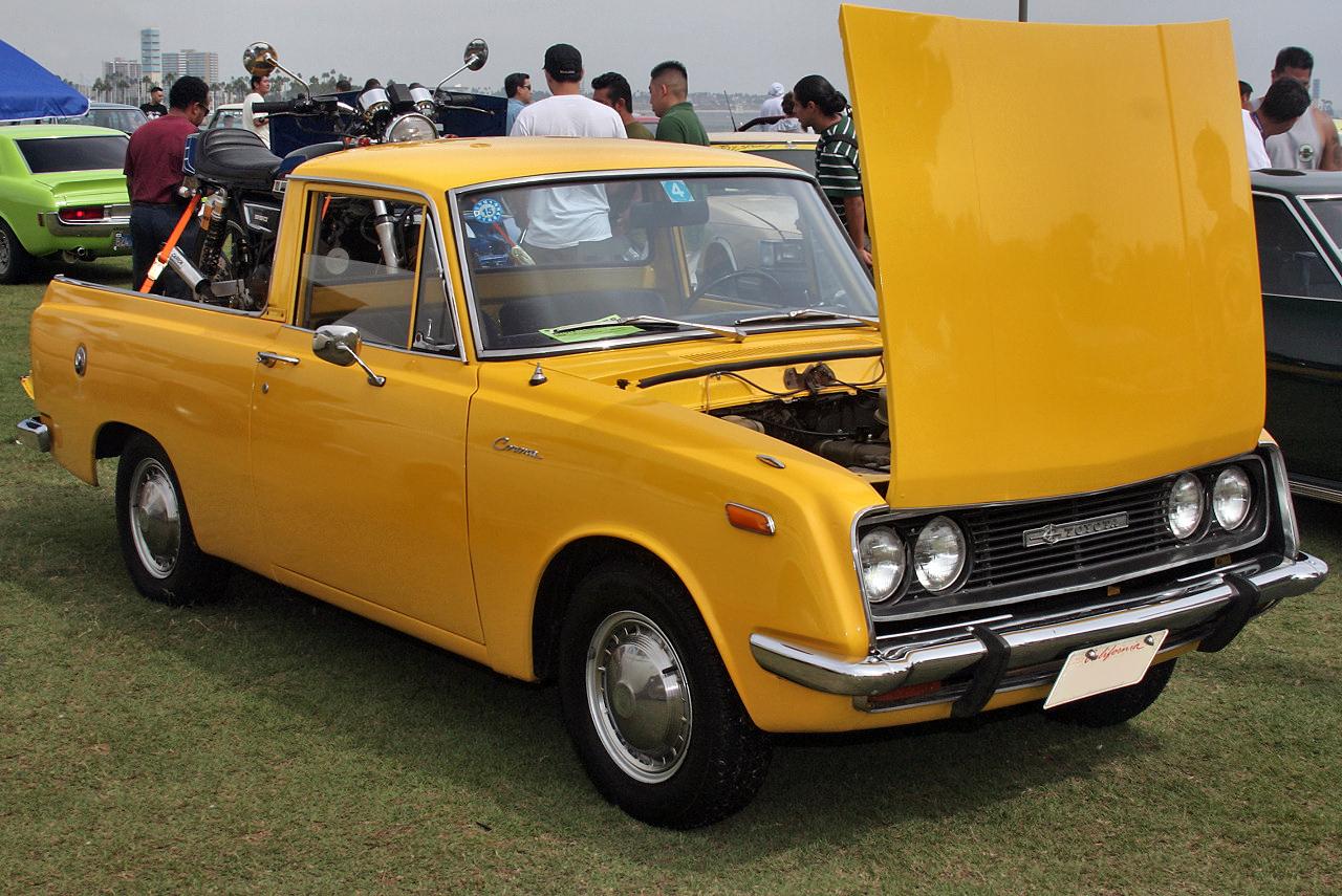 File:1968 Toyota Corona pickup US.jpg - Wikimedia Commons