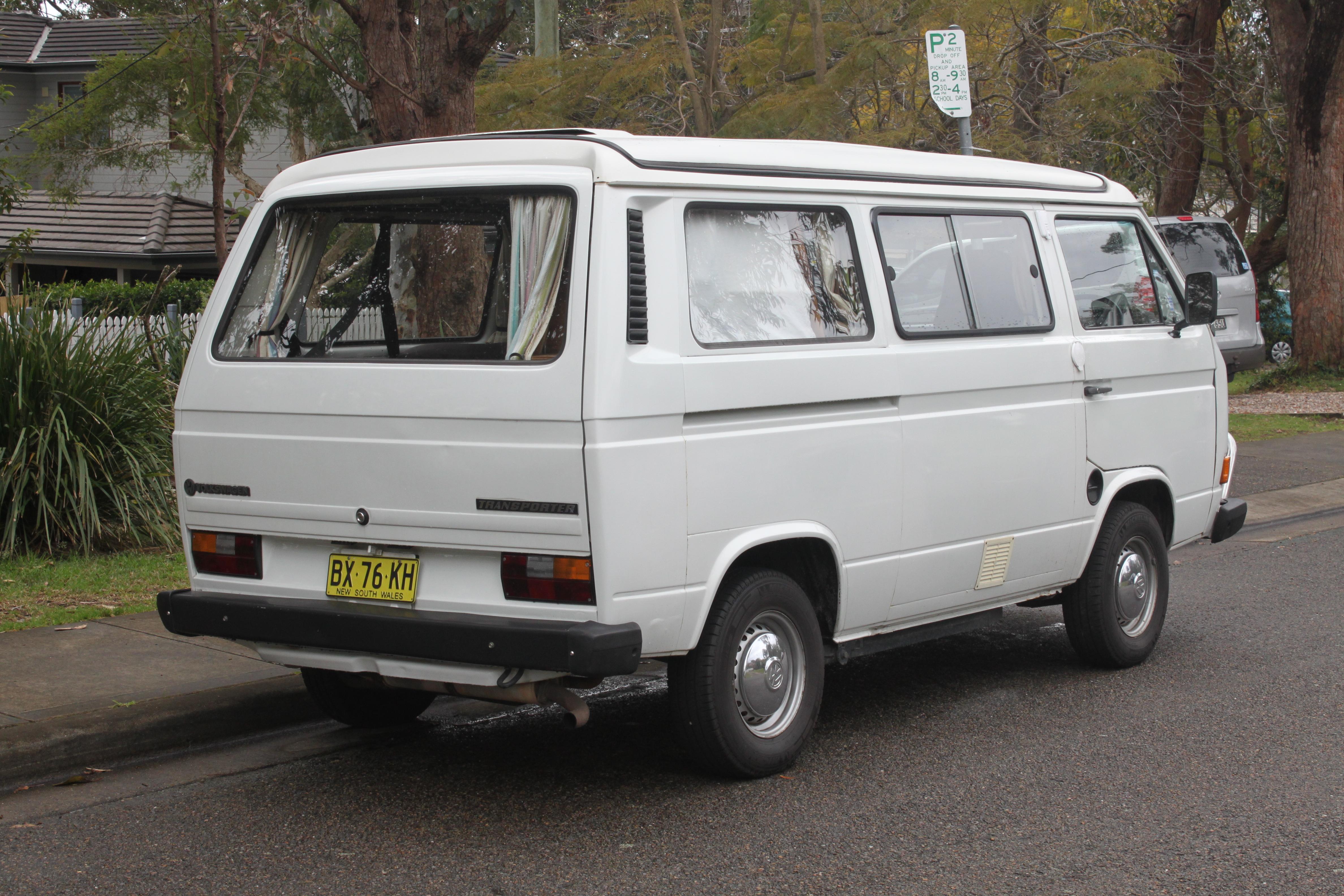 File 1984 Volkswagen Transporter 251 Van Camper
