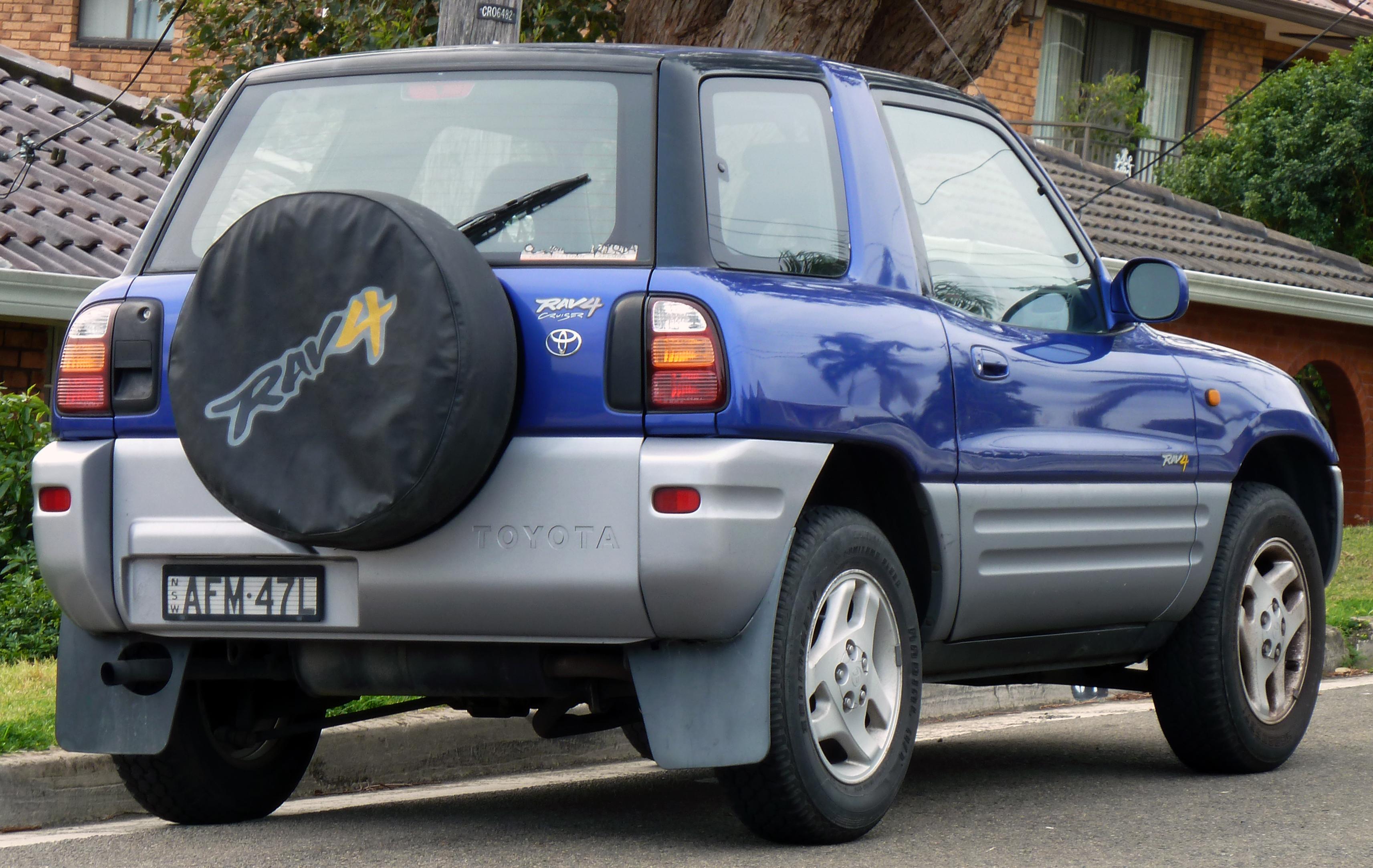 1998 Rav4 Custom >> File 1997 Toyota Rav4 Sxa10r Cruiser Hardtop 2010 09 19 Jpg