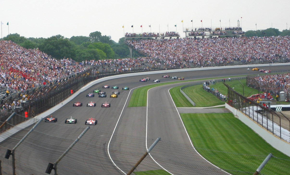 Indy 500 Starting Formation - by The359