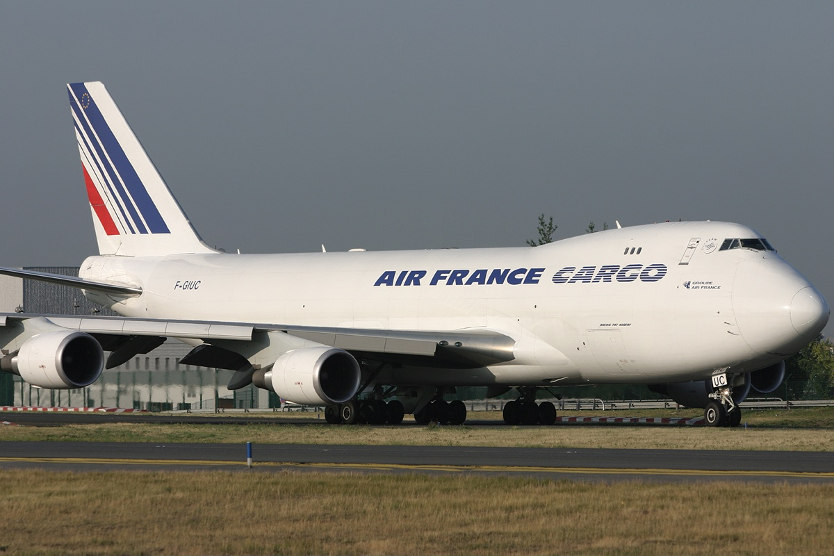 File air france cargo boeing 747 428f er scd airwim for Interieur avion air france