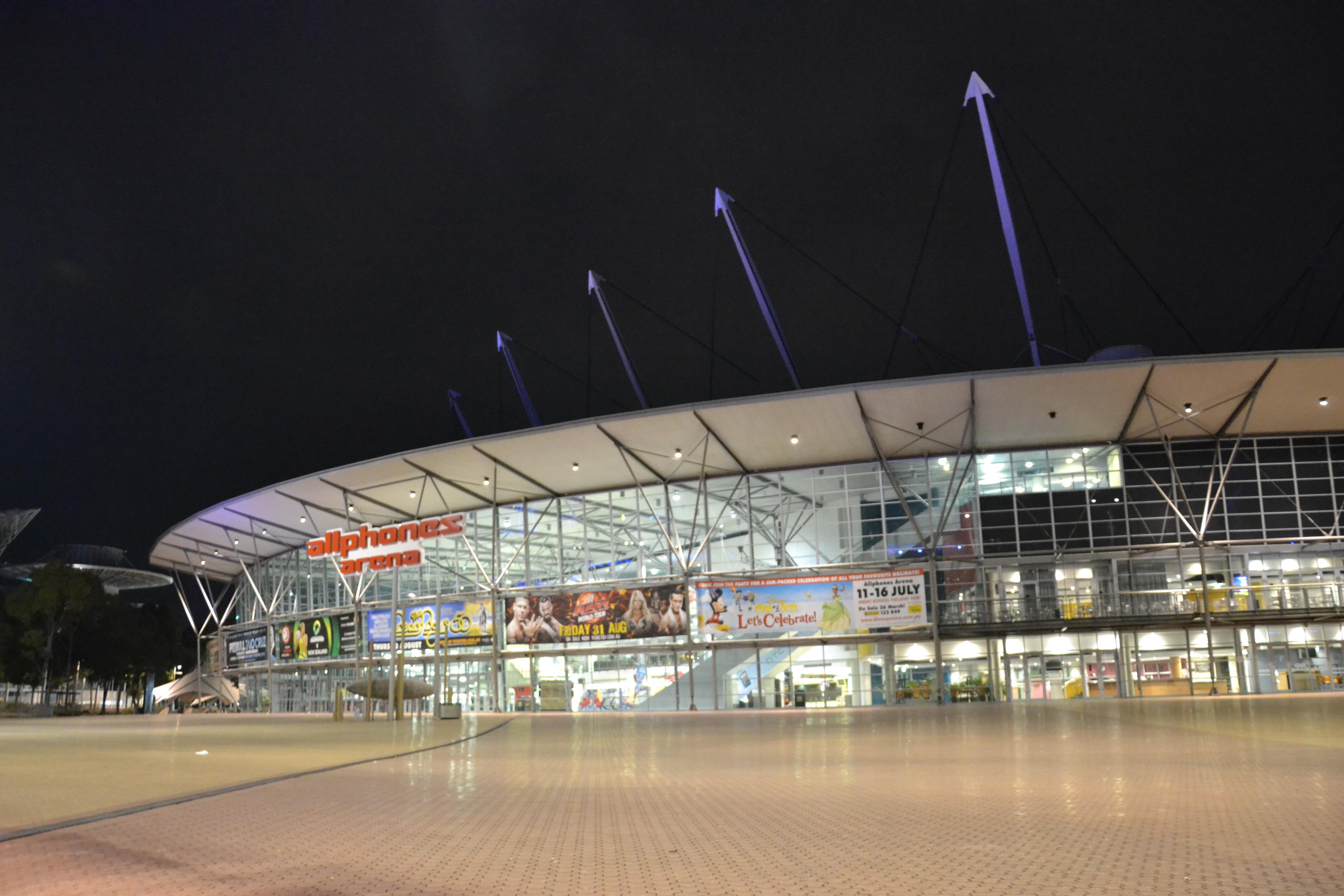 the allphones arena in sydney essay