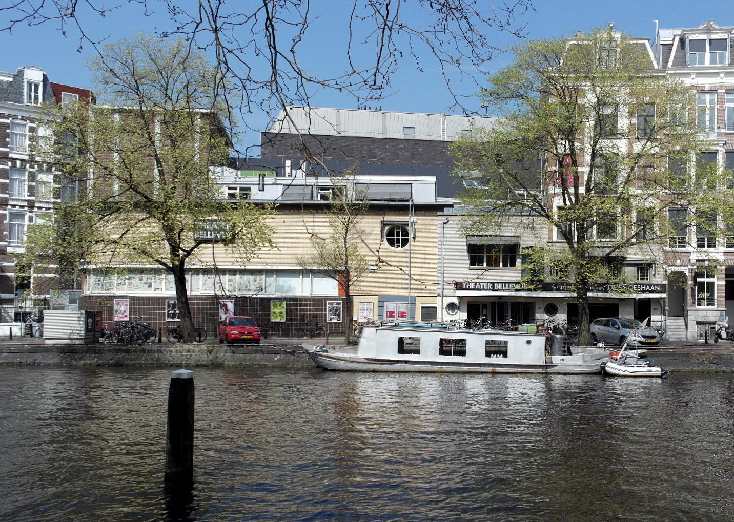 Amsterdam, Singelgracht Theater Bellevue.JPG