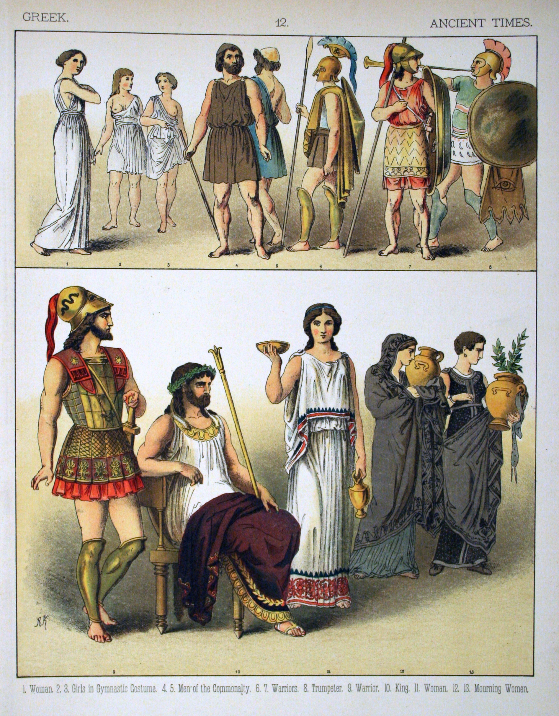 the women of ancient greek times