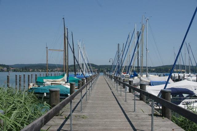 Yachthafen Herrenbrücke, Anlegesteg, Mittelzell, Reichenau (Jetty, Mittelzell, Reichenau) - geo-en.hlipp.de - 12481