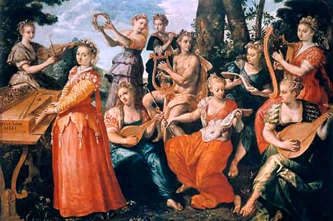 File:Apollo and the Muses by Marten de Vos (1570).jpg