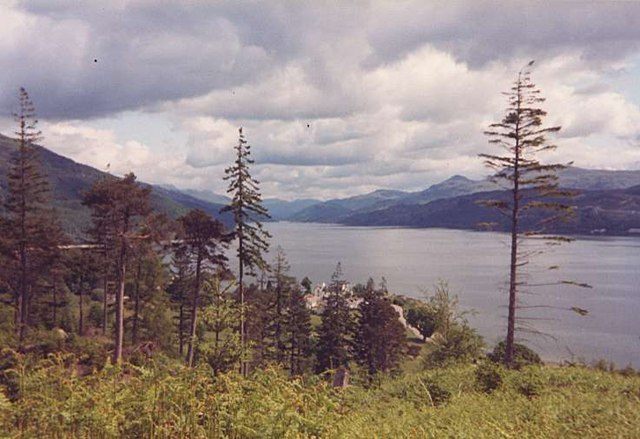Ardentinny Village and Loch Long - geograph.org.uk - 144177