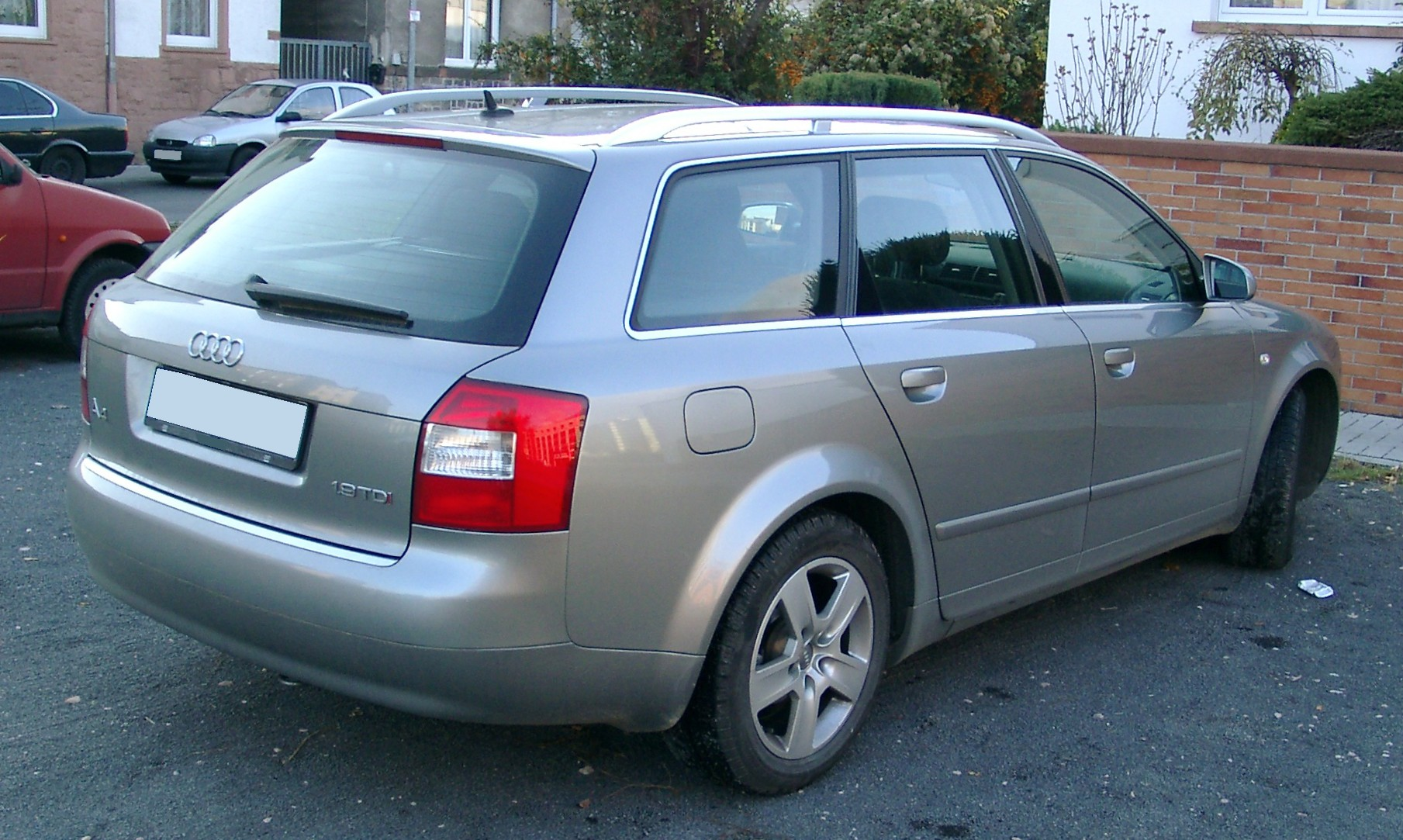 File Audi A4 B6 Kombi Rear 20071115 Jpg Wikimedia Commons