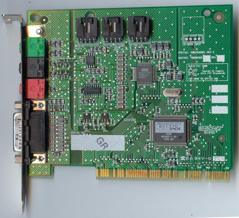 OSDev.org � View topic - Ensoniq AudioPCI 97 (VMWare) Problems