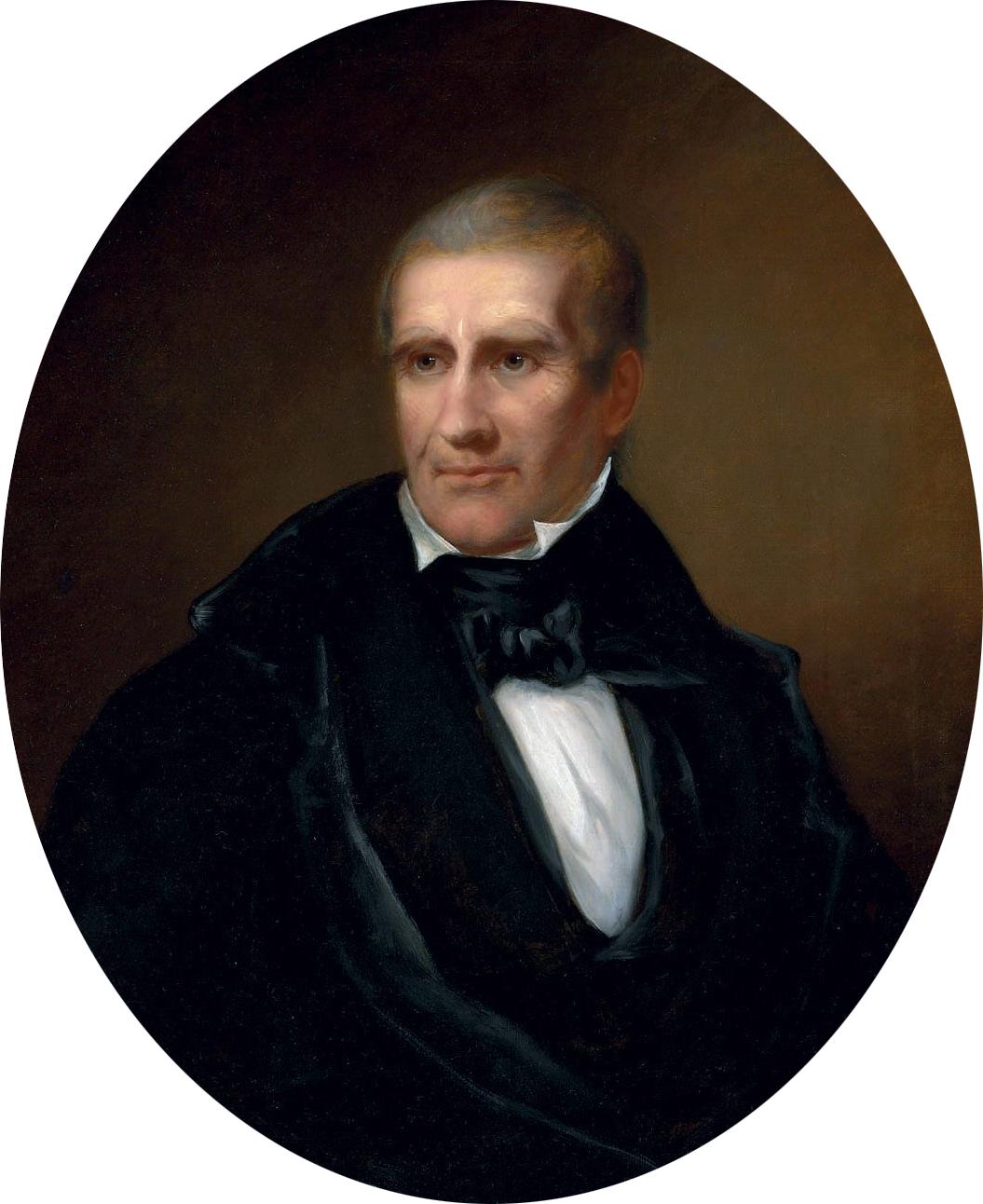 File bass otis american 1784 1861 portrait of william for The harrison