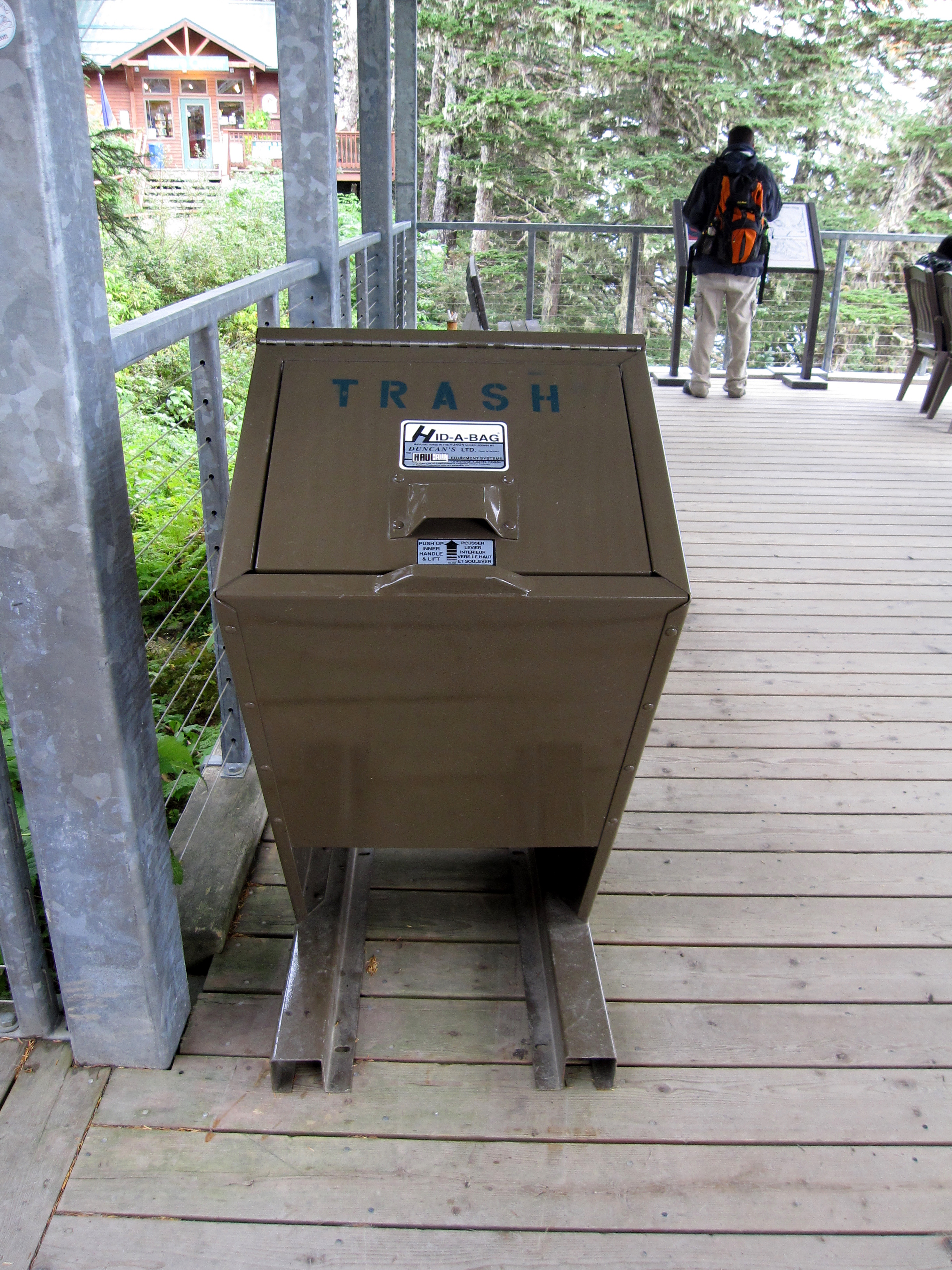 Bearicuda Stealth Bearproof Garbage Can Is Tested And Roved To Keep Bears Out Of Your