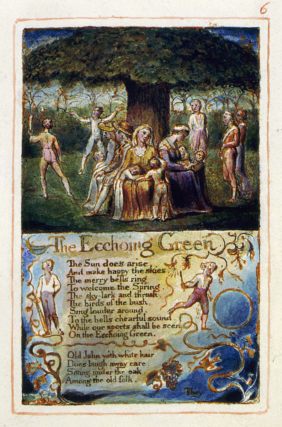 "echoing green william blake This study was aimed to find out kinds of figurative language and the meaning figurative language used in poem ""the echoing green"" by william blake."