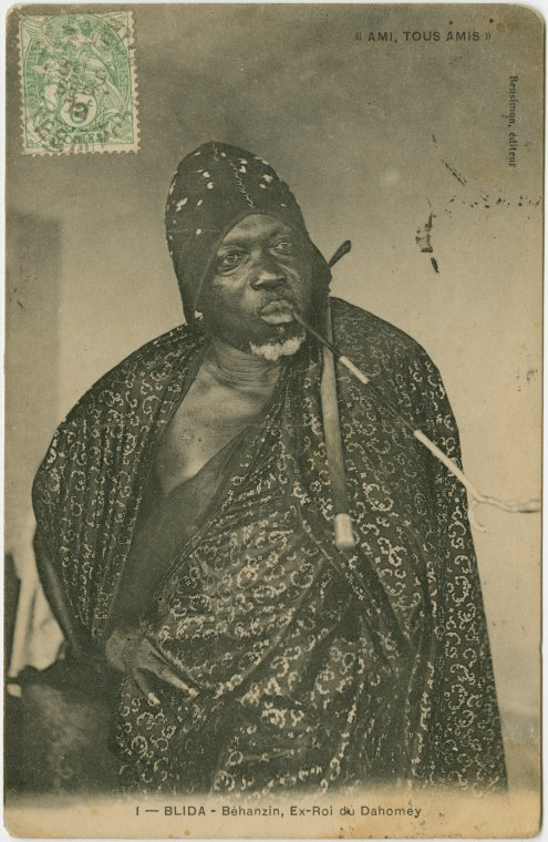 File:Blida (Algeria) - Béhanzin, former King of Dahomey ...