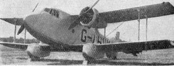 Boulton Paul P.64 Mailplane L'Aerophile August 1933