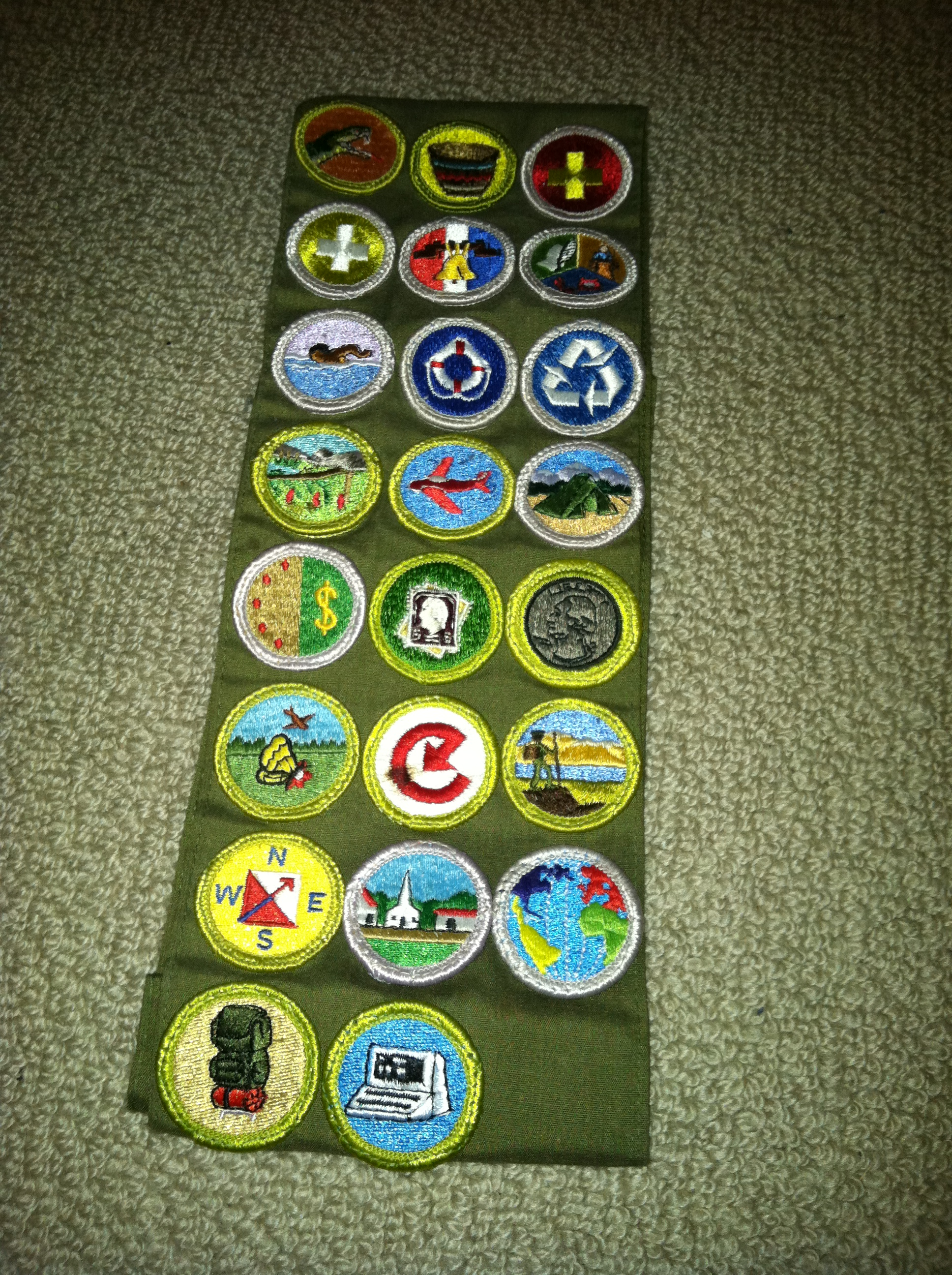 Scout Merit Badges