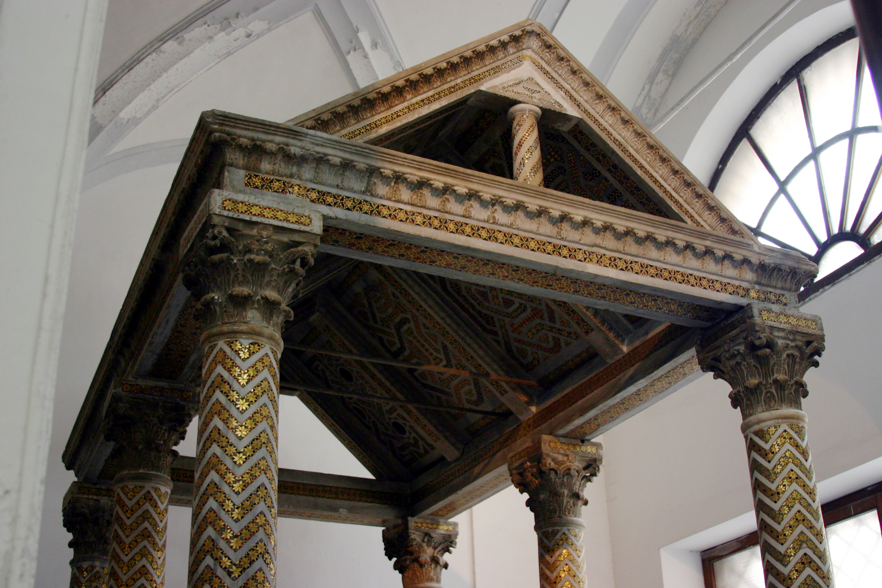 filecanopy tomb of constance of hauteville cathedral of palermo italy 2015 - Open Canopy 2015