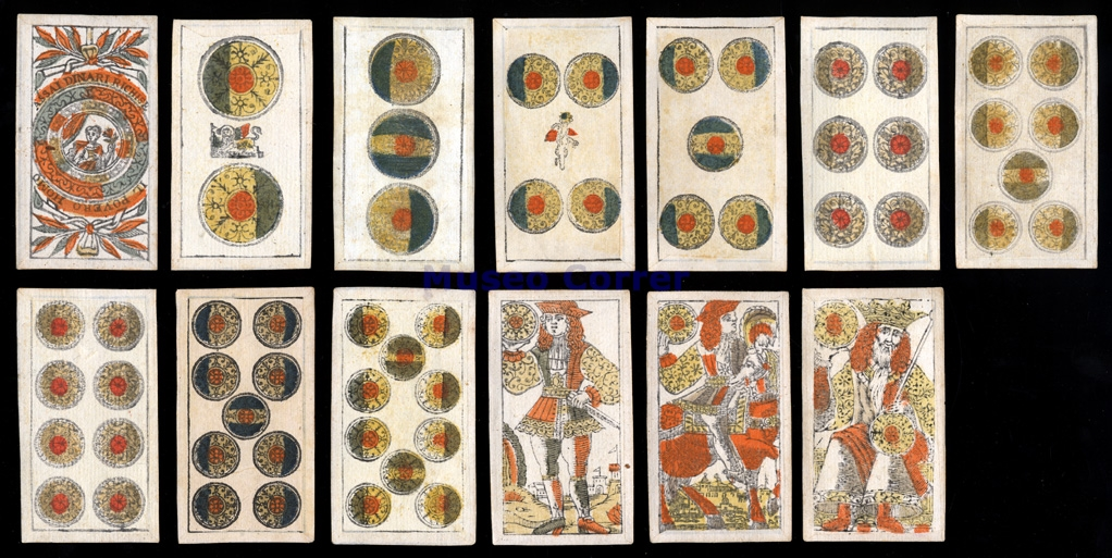 Venetian deck of cards