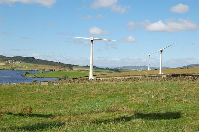 Chelker Wind Farm, near Addingham - geograph.org.uk - 745846