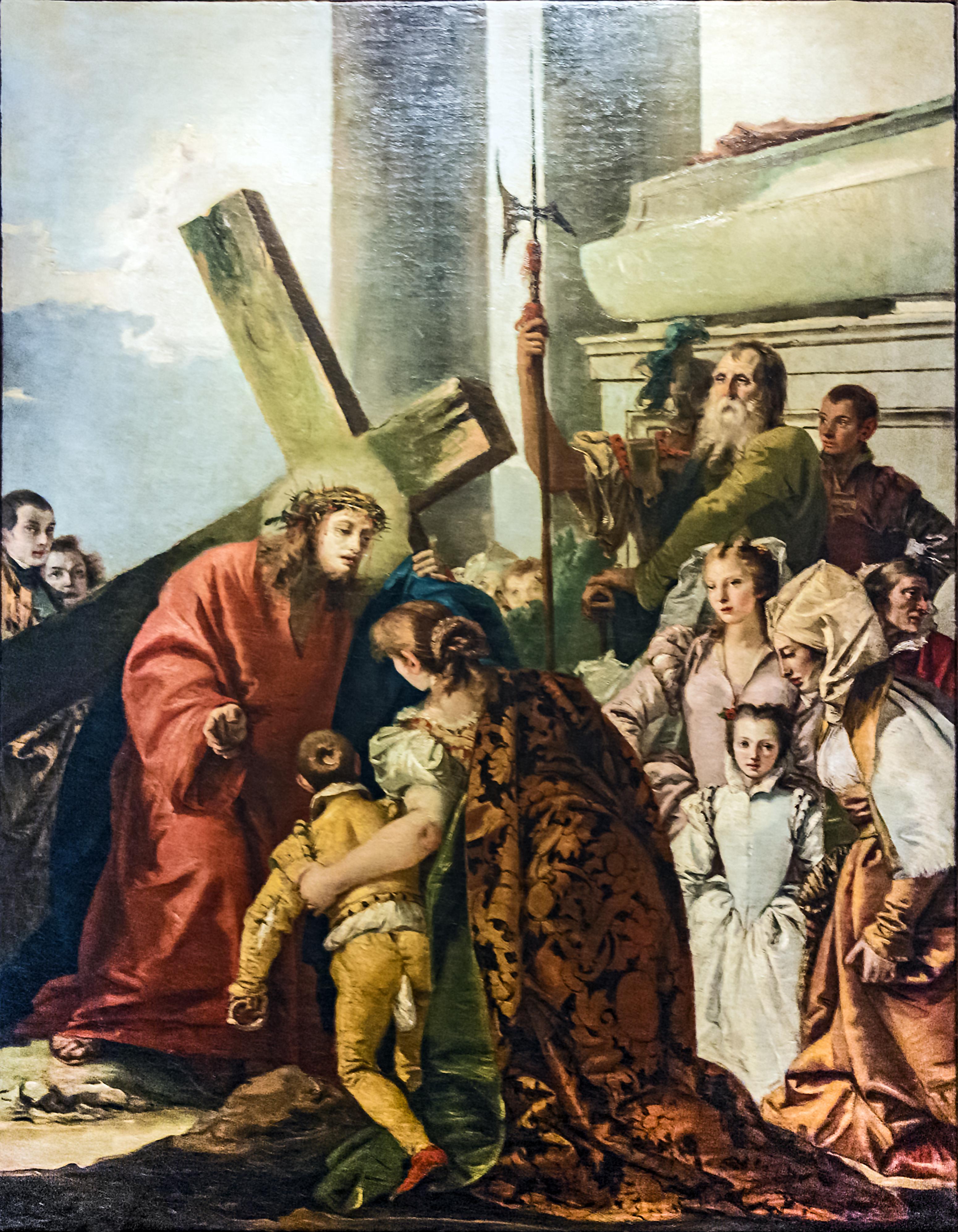 Chiesa di San Polo (Venice) - VIA CRUCIS VIII - Jesus ...