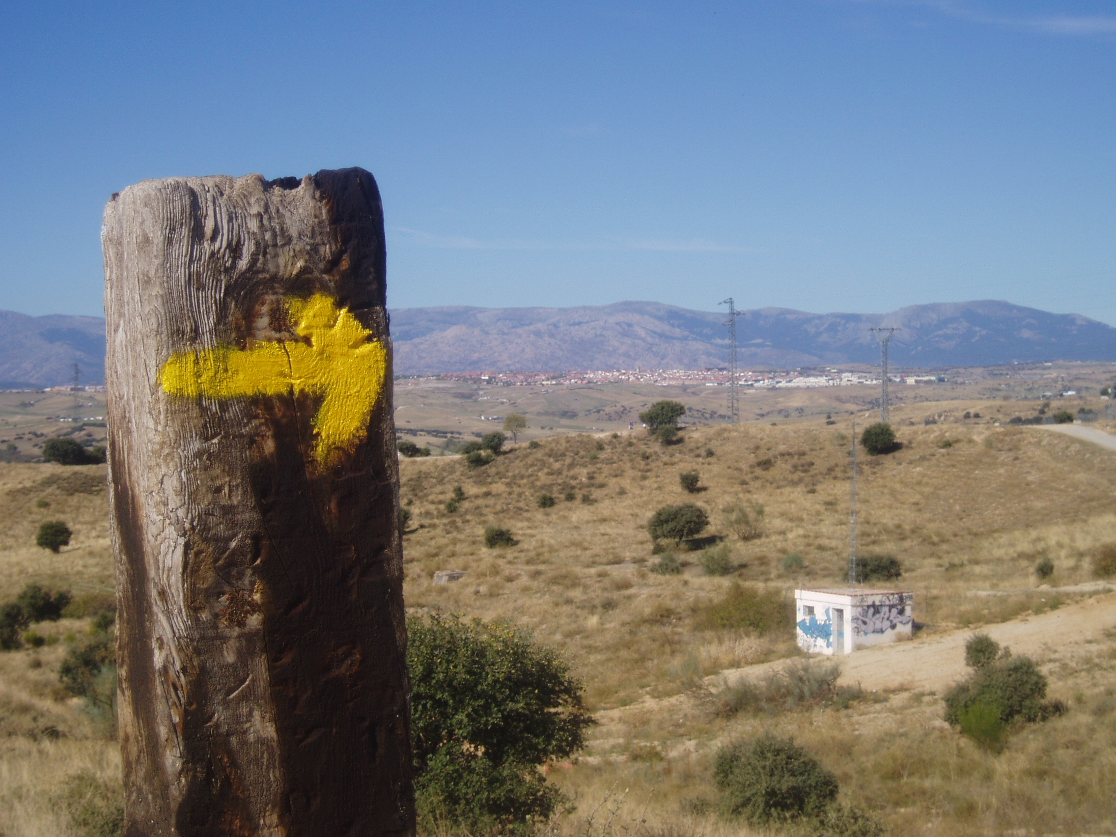 Descripción Colmenar Viejo. Camino de Santiago. Madrid. España..JPG