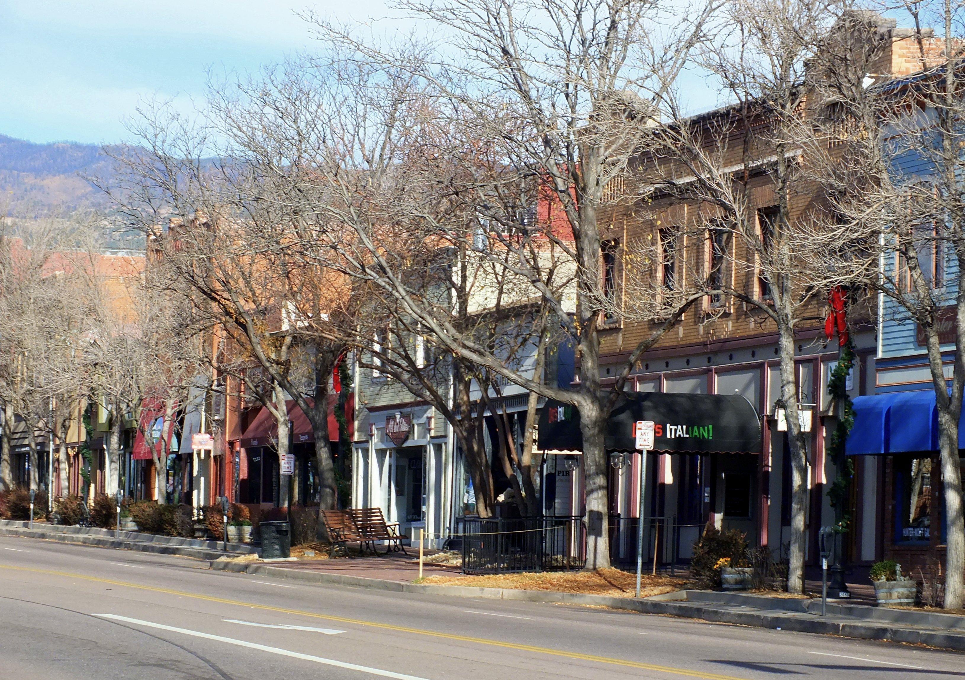 City Of Colorado Springs >> Old Colorado City Wikipedia