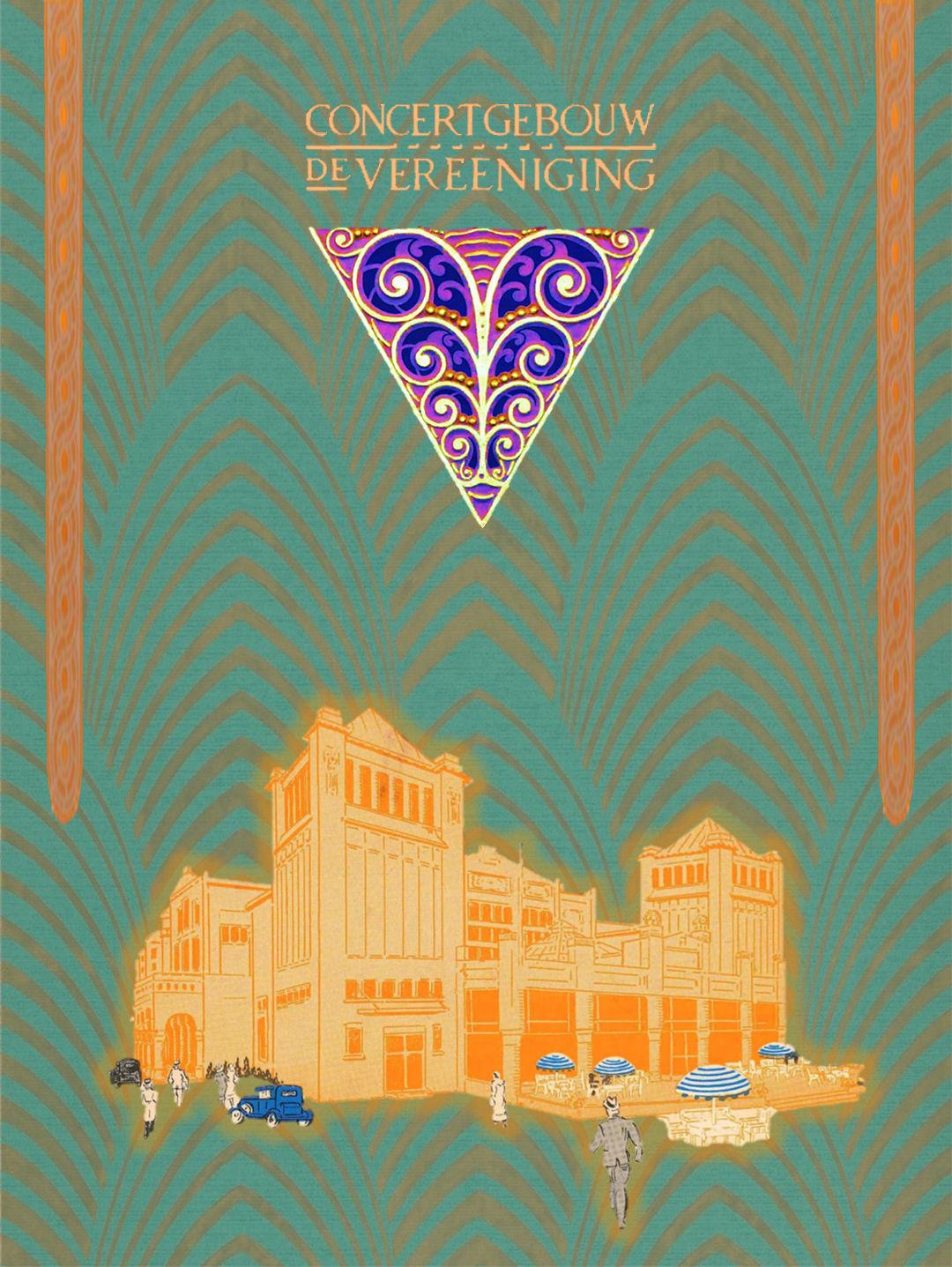 File Concertgebouw De Vereeniging Nijmegen Art Deco Art Nouveau 2018