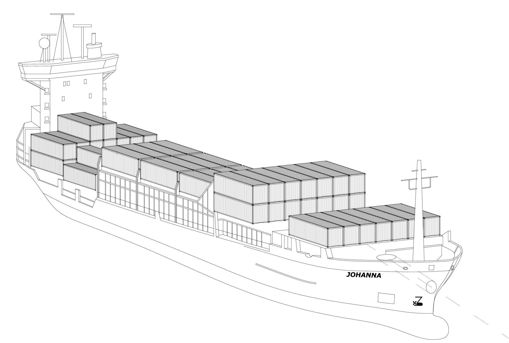 filecontainerschiff johanna sw  wikimedia commons