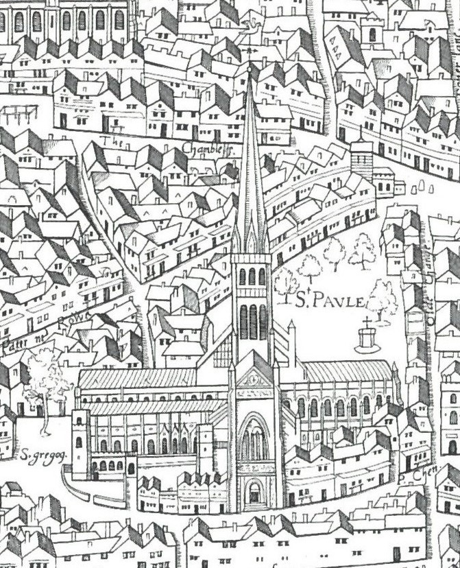 London 1600 Map.Copperplate Map Of London Wikipedia