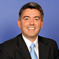 English: Cory Gardner, member of the United St...