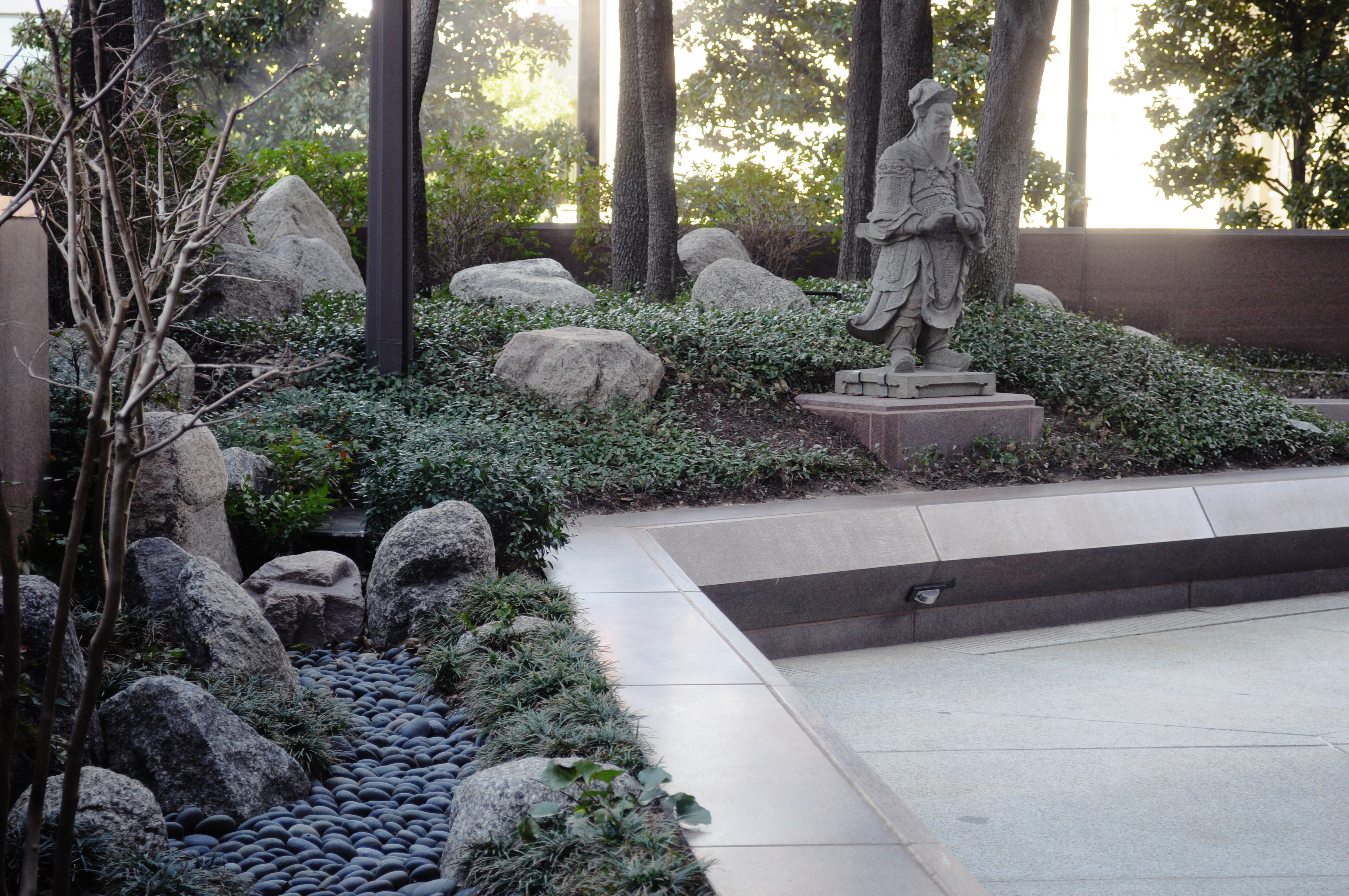 FileCrow Asian Sculpture Garden 01jpg Wikimedia Commons