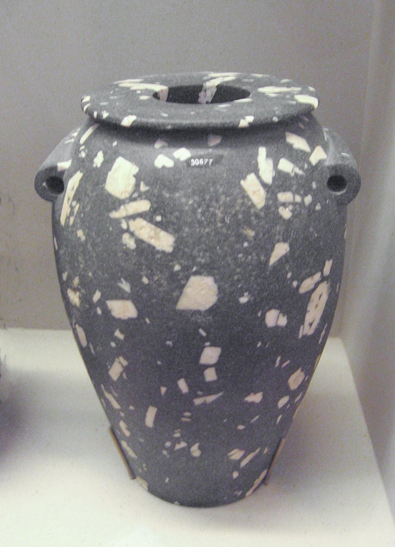 Vasija de la época Predinástica - Nagada